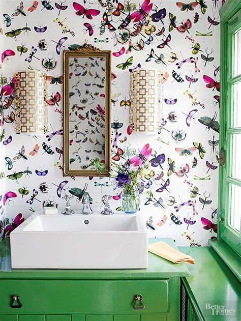 Funky Bathroom Wallpaper Ideas | best 20 funky bathroom ideas on pinterest small vintage bathroom mosaic bathroom and