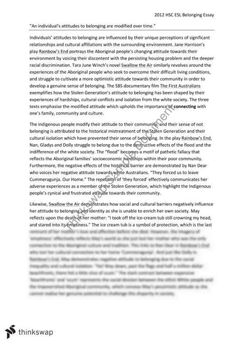 Belonging Essay Introduction by Identity And Belonging Essay Sles Mental Health Practitioner Sle Resume Free