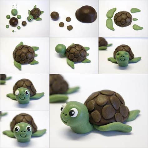 how to make a turtle out of creative ideas diy fondant turtle cake topping