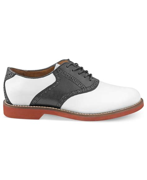 bass shoes g h bass co bass burlington plain toe saddle shoes in