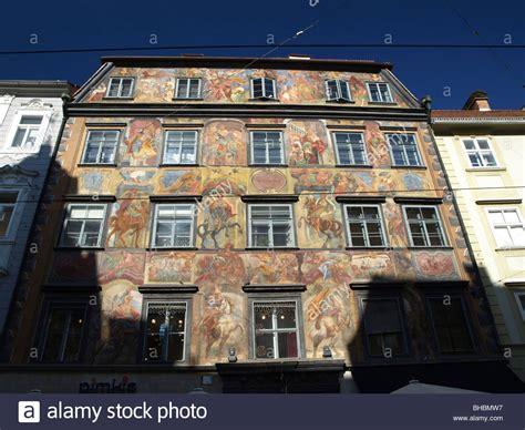 haus in graz herrengasse gemalte haus painted house in graz styria