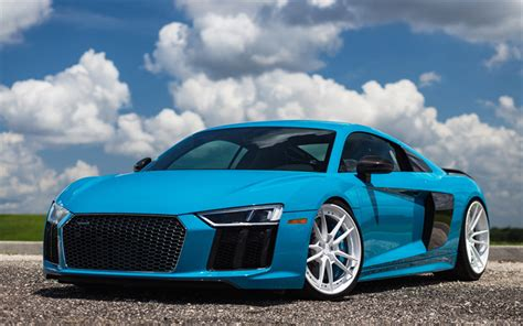 audi r8 wallpaper blue wallpapers 4k audi r8 tuning 2018 cars blue