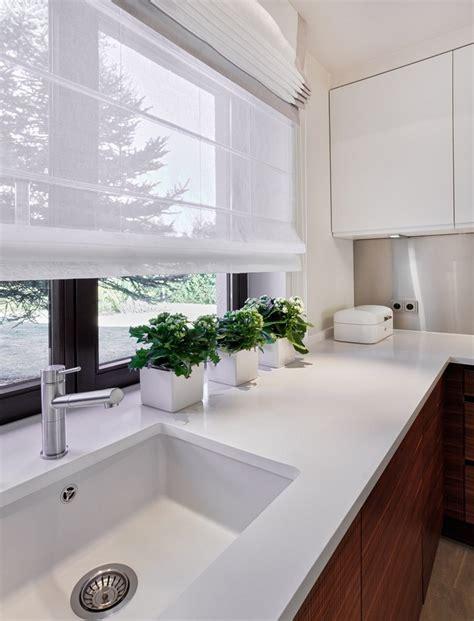 küchengardinen ideen fensterdeko kuche modern speyeder net verschiedene