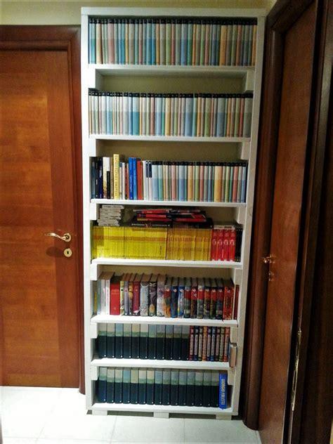 libreria pallet arredo casa mobili in pallet