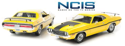 Wheel Ncis Gibb S Dodge Challenger lights greenlight die cast x