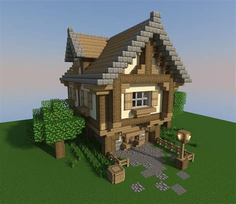My little Tudor house by the sea. : Minecraft
