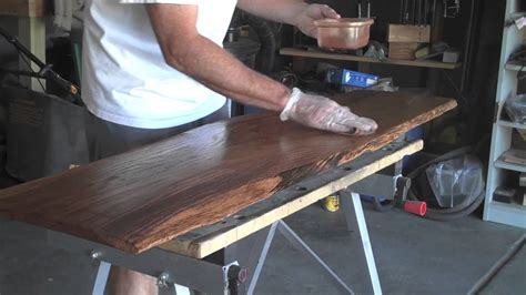 How To Make A Table In R How To Make A Natural Wood Coffee Table Youtube