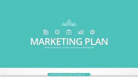 Marketing Plan Powerpoint Presentation By Jhon D Atom Graphicriver Marketing Strategy Template Ppt