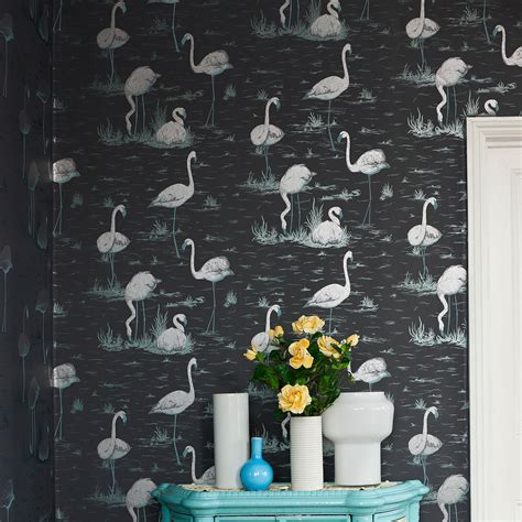 flamingo wallpaper cole and son flamingos 95 8045 contemporary restyled cole son