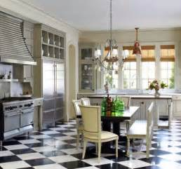 Black And White Kitchen Floor Black And White Kitchen Floor