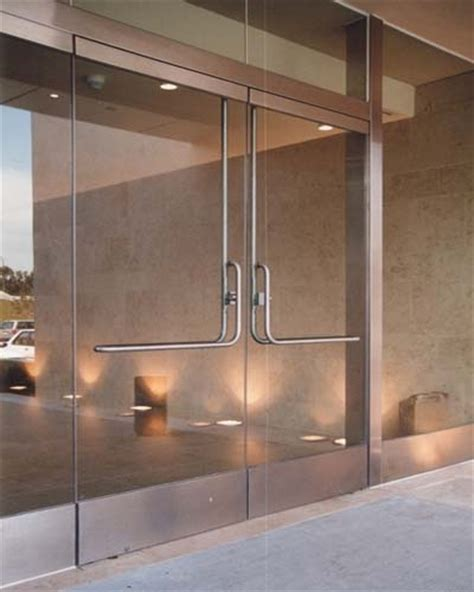 Prl Glass Systems Panic Bars For Glass Doors