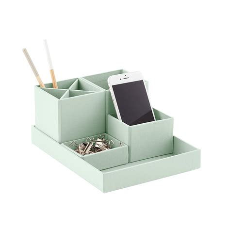 container store desk organizer bigso mint stockholm desktop organizer the container store