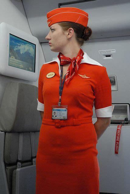 Flight Attendant Cabin Crew by Aeroflot Flight Attendant Cabin Crew C Crew Uniforms