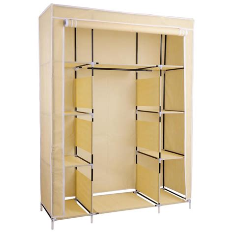 Large Storage Closet by Portable Wardrobe Large Easy Assemble Storage Space