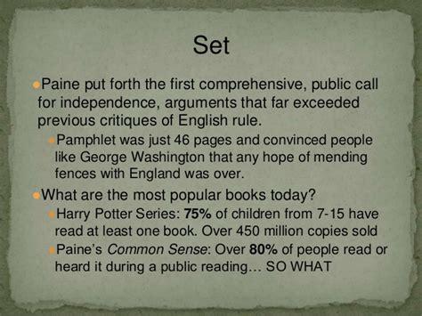 Paine Common Sense Essay by Common Sense Essay By Paine Mfacourses719 Web Fc2