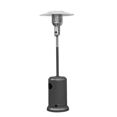 bunnings patio heaters jumbuck outdoor patio heater powder coated charcoal grey