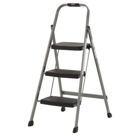 3 step steel step stool rubbermaid 3 step steel step stool ladder