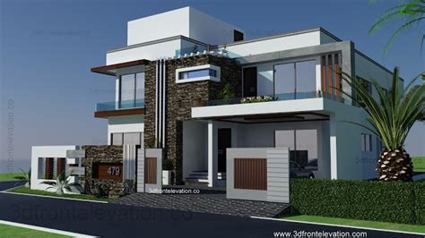 Duplex Home Interior Photos 1 kanal modern house plan 3d front elevation design 479