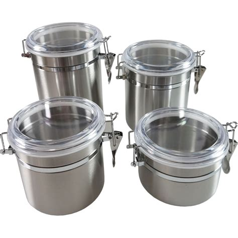 100 stainless steel kitchen canister set square 100 stainless steel canister sets stainless steel