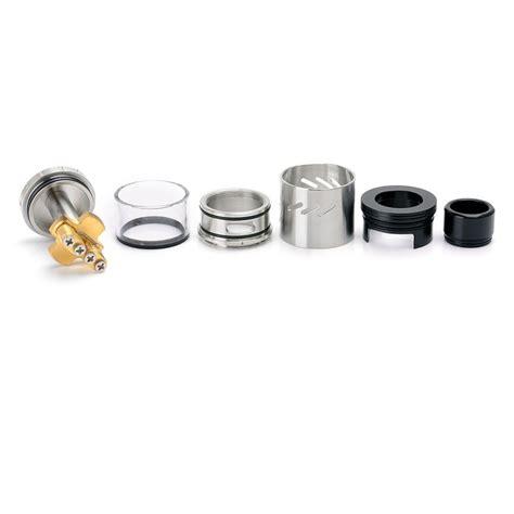Coilart Azeroth Rdta Atomizer authentic coilart azeroth rdta 4ml 24mm silver rebuildable atomizer