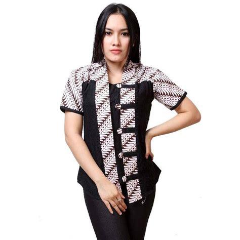 Pendek Feb4 2016 8 baju batik lengan pendek modern 2018 mempesona 1000 model baju batik kantor
