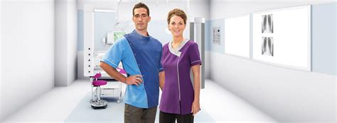 comfort dental corporate office uniform tunic dental medical pharmacy beauty