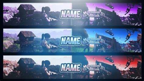 fortnite banner template free gfx fortnite battle royal banner template