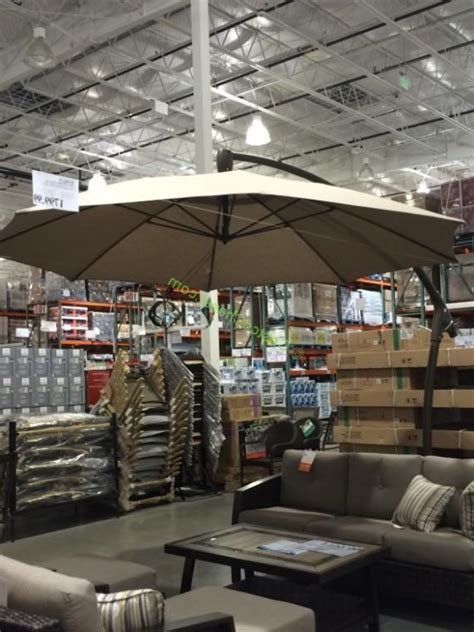 inspirations  costco cantilever patio umbrella