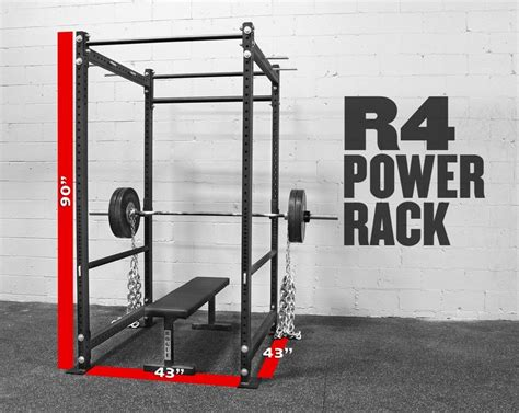 rogue r 4 power rack crossfit garage