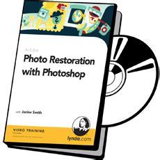 Dvd Belajar Photoshop Advance Lynda win photo restoration with photoshop course on dvd