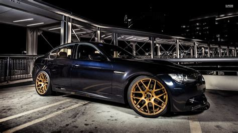 golden cars wallpaper golden rims on a bmw m3 with 51037 1920 215 1080 cars