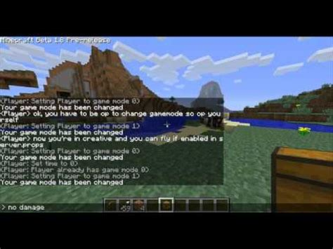 game mode for minecraft minecraft tutorial how to change gamemode in minecraft on