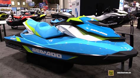 sea doo jet boats 2017 2016 sea doo gti 130 jet ski walkaround 2016 toronto