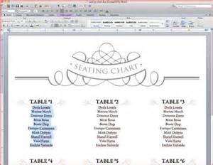 seating plan wedding template resume business template free table plan template