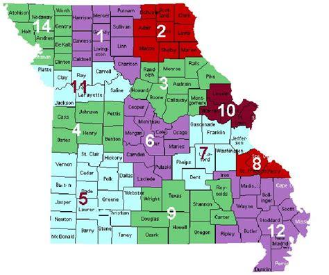 missouri district map f f a m district
