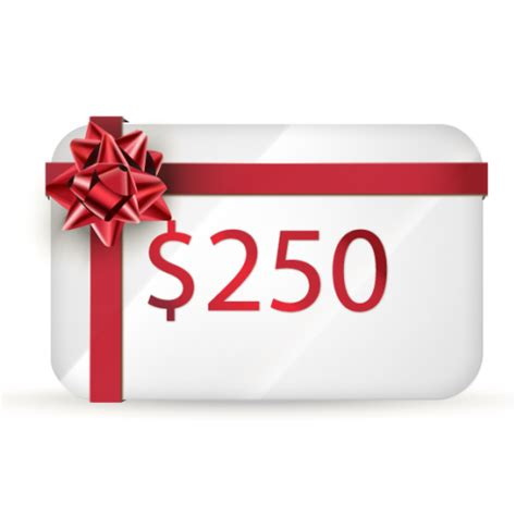 250 Gift Card - 250 gift certificate dive world