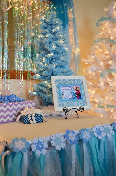 frozen themed decoration ideas kara s ideas disney s frozen themed birthday