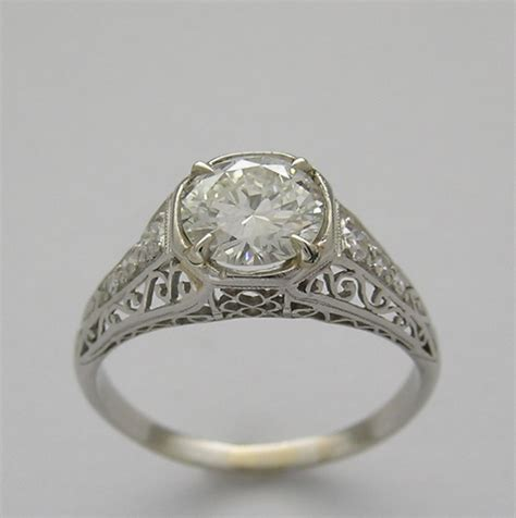 antique engagement ring settings wedding promise