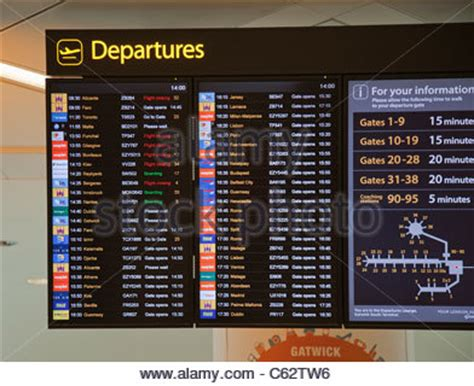 uk airport arrivals and departures information websites departures board stock photo royalty free image 54196332