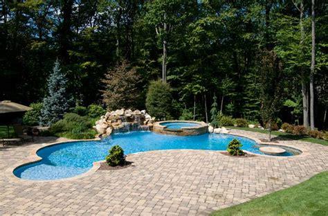 inground pool designs pin by sherri bauer on pool time pinterest