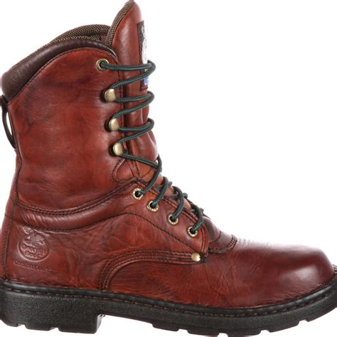 lightweight comfortable work boots georgia eagle light men s comfort work boot style g8083