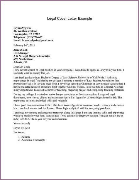 Lawyer Cover Letter 74 letter format designproposalexle
