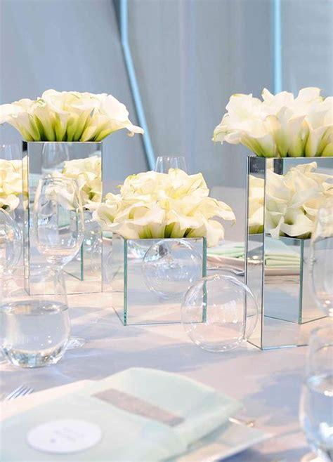 mirror centerpieces for tables 43 creative mirror wedding d 233 cor ideas weddingomania