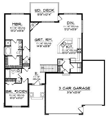 Best Empty Nester House Plans by Best 20 Rambler House Plans Ideas On Rambler