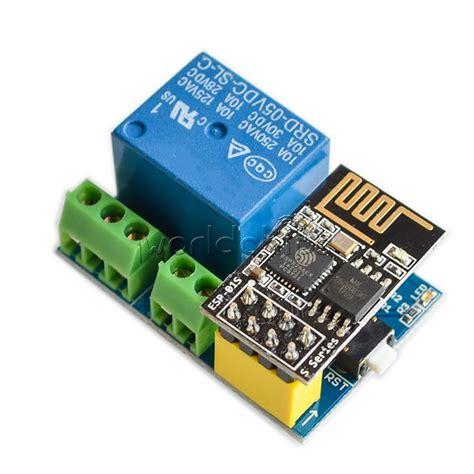 Esp8266 5v Wifi Relay Module Diy Iot Remote Smart Home 5v wifi esp8266 relay module smart home phone remote switch app esp 01s ebay