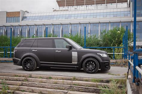 land rover lumma range rover lwb gets wide body kit from lumma design