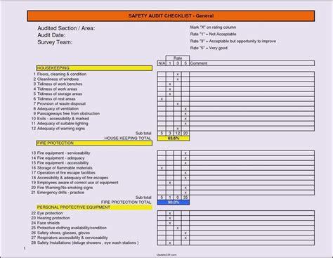 internal audit checklist iso 9001 best free home