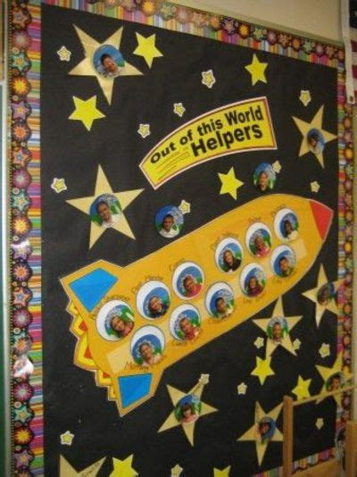 more ideas for space themed bulletin boards preschool