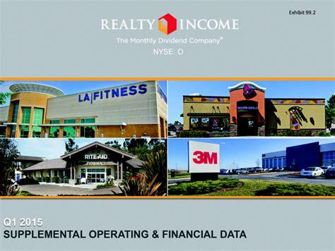 p g supplemental data sheet q1 2015 supplemental operating financial data nyse o