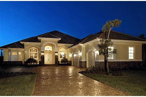 single level home designs mediterranean plan 3 089 square 3 4 bedrooms 3 bathrooms 1018 00054